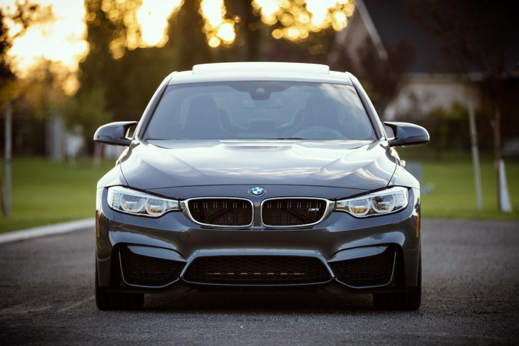 luxury motor car