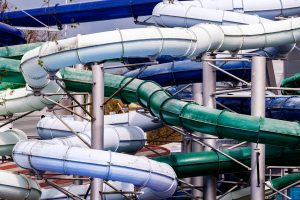 Pipes in theme park